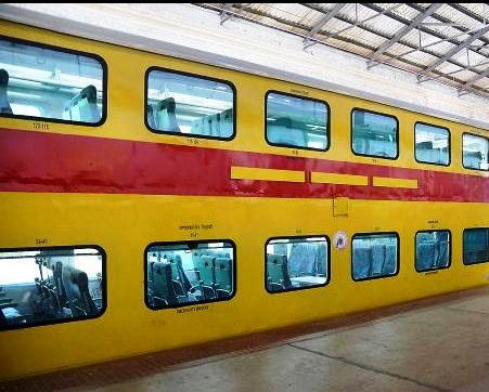 special double decker overnight ac chair car trains to be launched